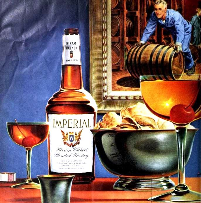 Imperial Whiskey 1947