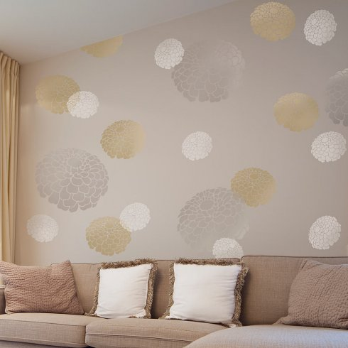 Wall Stencils Google Search Floral Wall Stencil Stencils Wall Stencil Wall Art