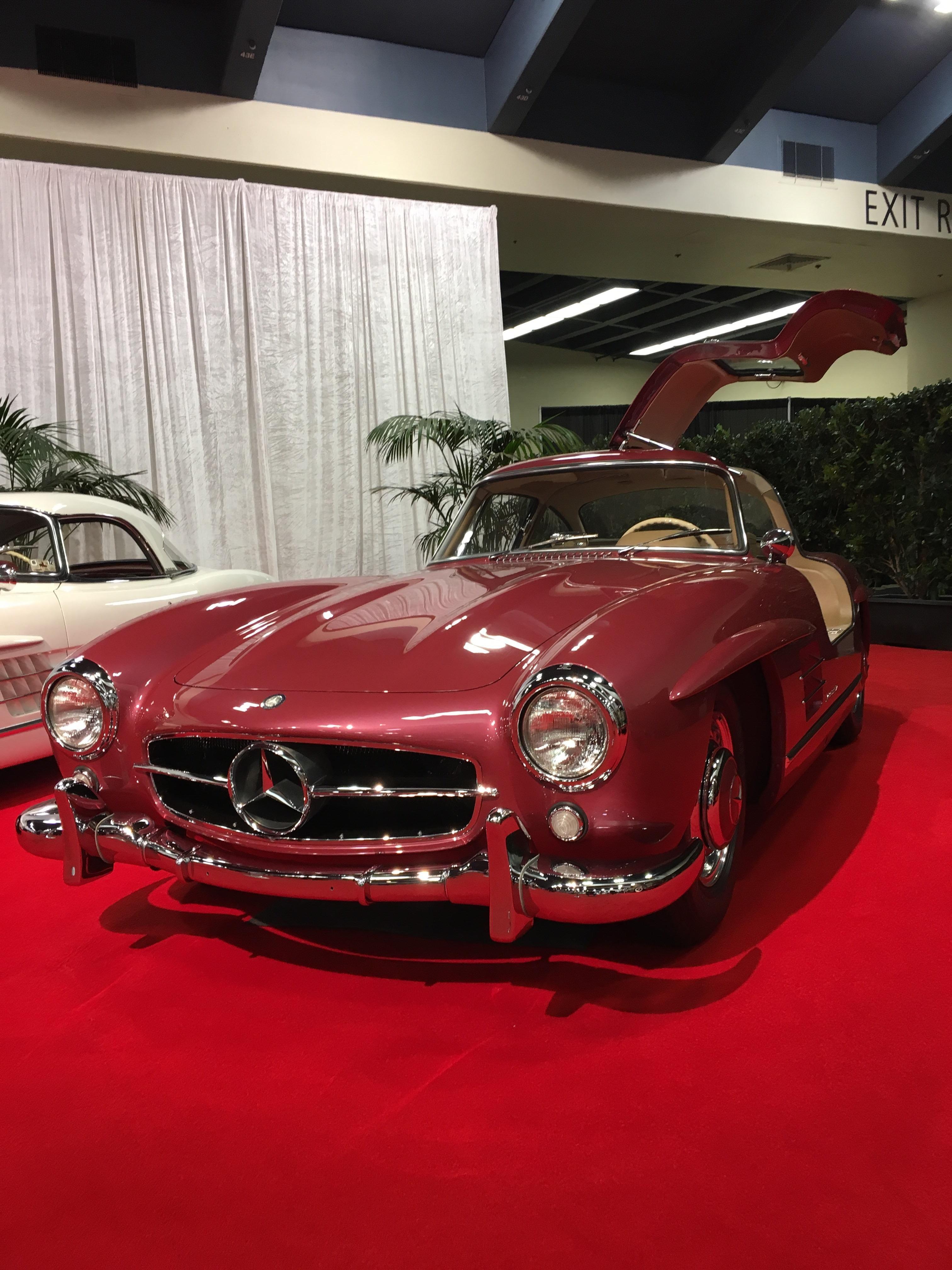 Mercedes 300sl from the San Francisco Auto Show 3024 x 4032 via