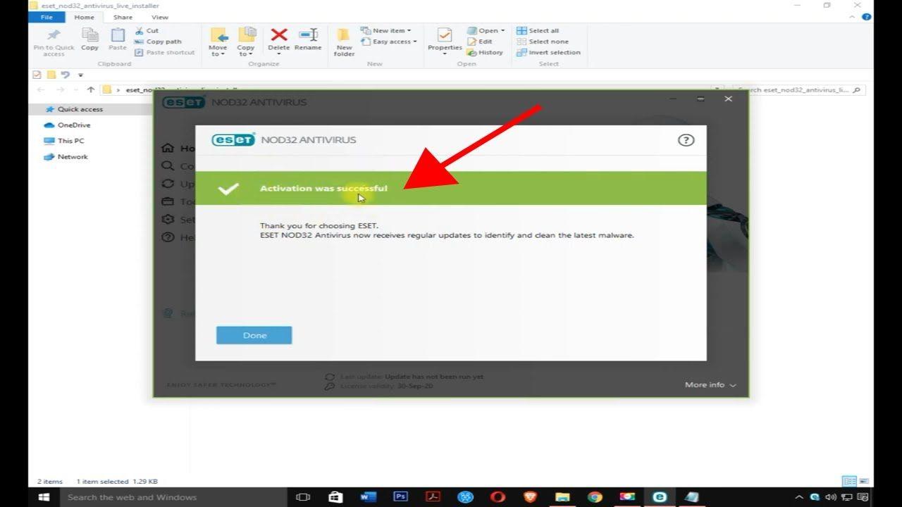 ESET NOD32 Antivirus License Key Till 2023 Full Version ...