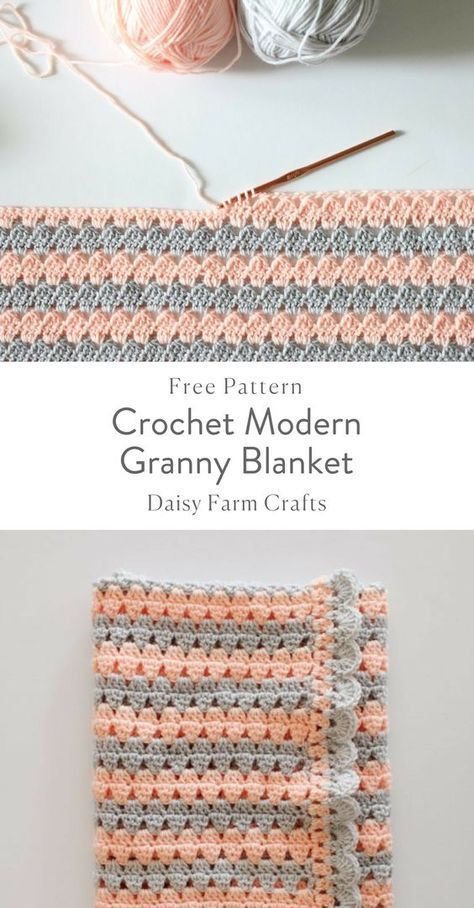 Crochet 6-Day Kid Blanket Free | Crochet Blankets | Pinterest ...