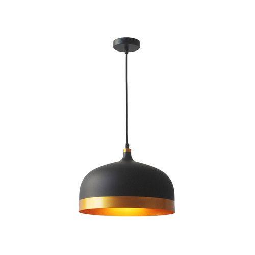 Melaina 1-Light Bowl Pendant | Industrial