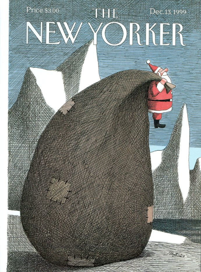 On the hundred and five holiday covers the magazine has published over ninety…