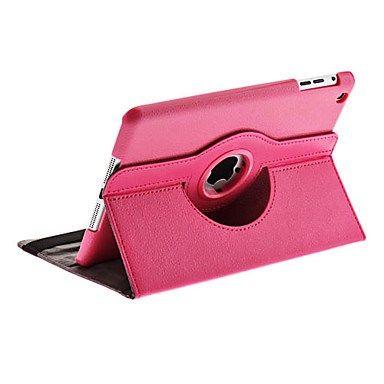 Case em Pele Rotativa com Suporte para iPad Mini