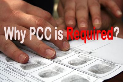 Why PCC is required? A #police #clearance #certificate is an