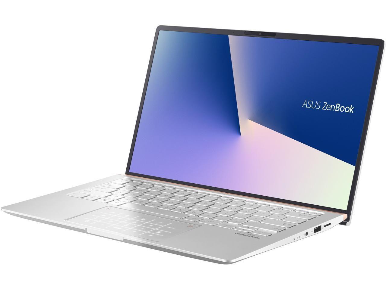 Asus Zenbook 14 Ultra Slim Laptop 14 Full Hd 4 Way Nanoedge Bezel Amd R7 3700u Cpu 8 Gb Ram 1 Tb Asus Ssd Laptop
