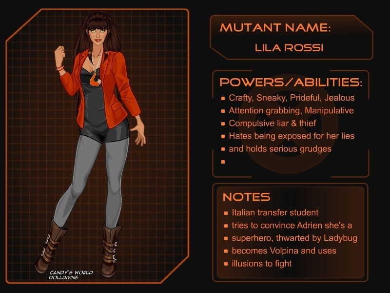 X-Girl - Lila Rossi by autumnrose83 on DeviantArt | ART from