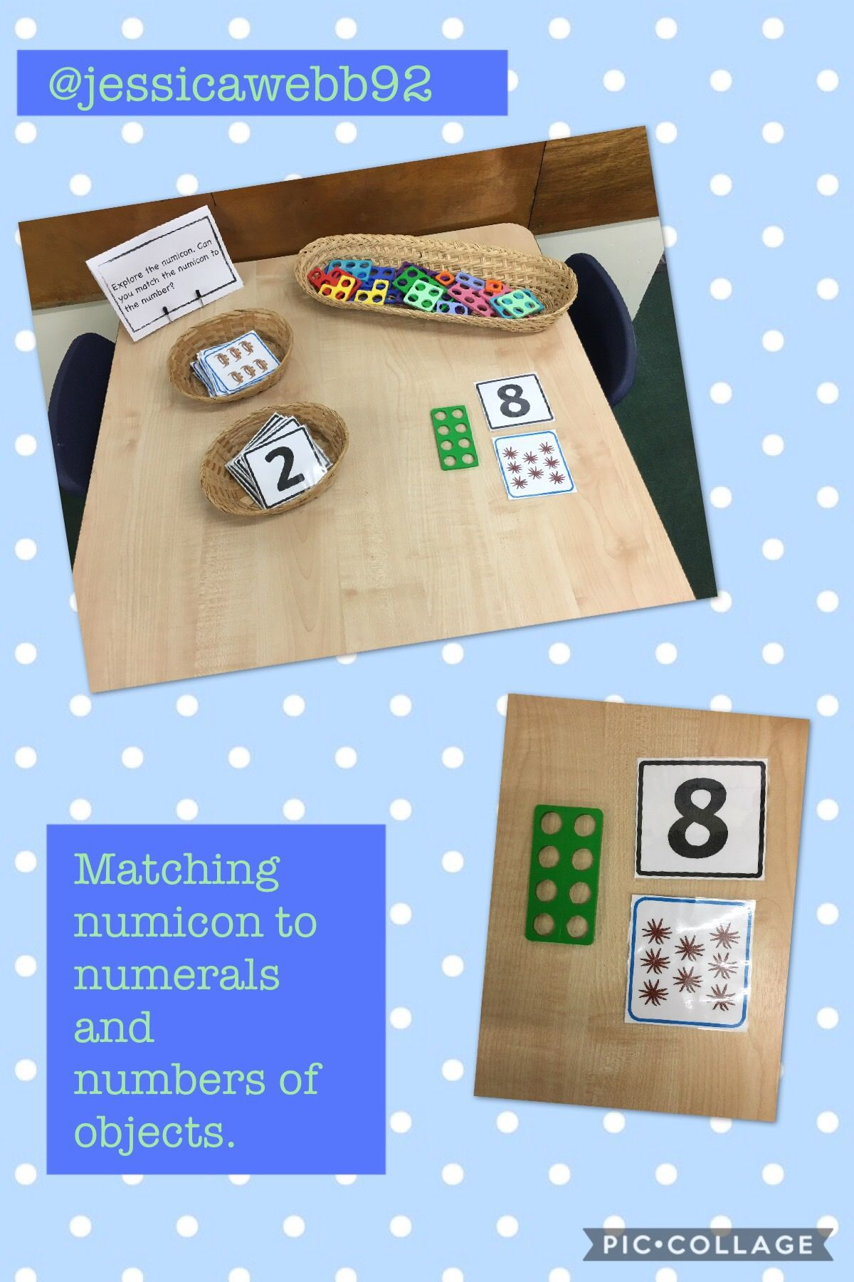 Match The Numicon To The Numeral And Number Of Objects