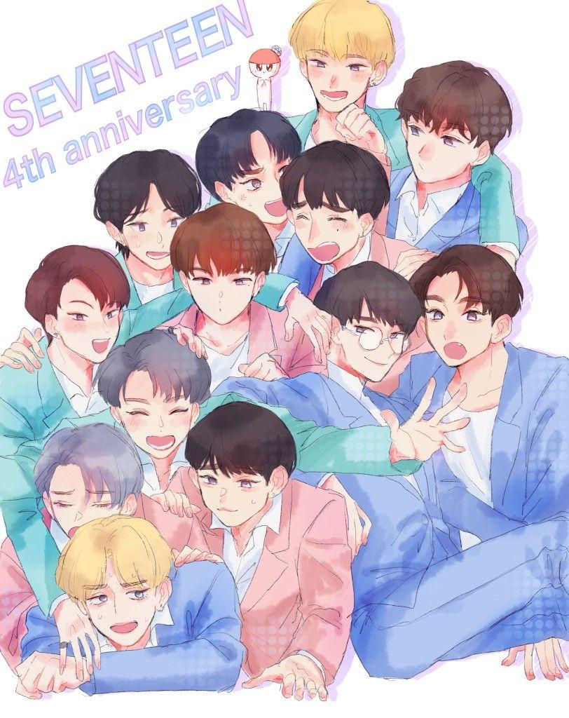 Pin Oleh K C Di Seventeen 17 by wallpapers anime