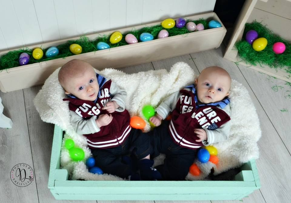 Twin Easter Photography