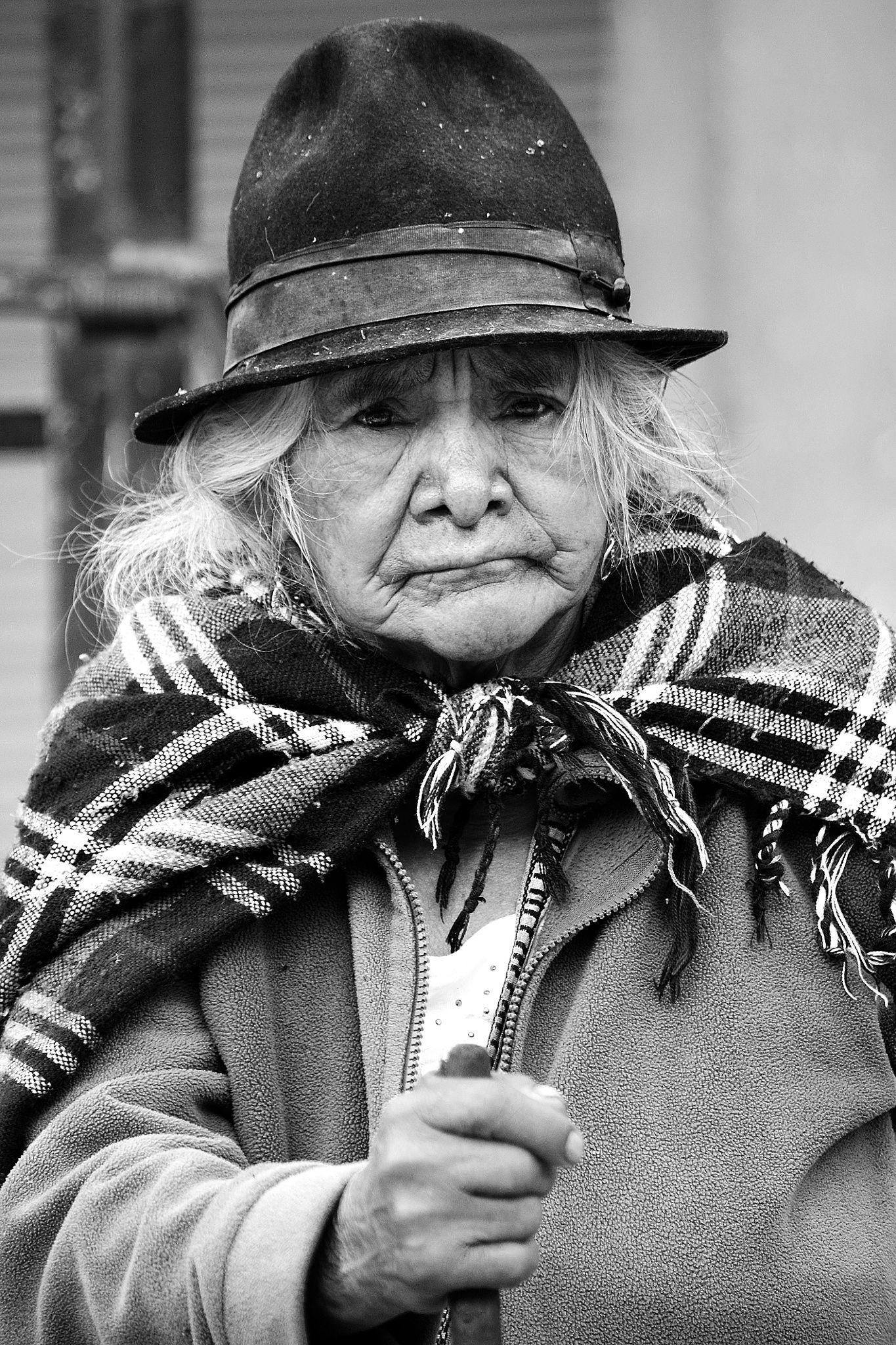 Esperanza - Hope - Persona anciana tradicional