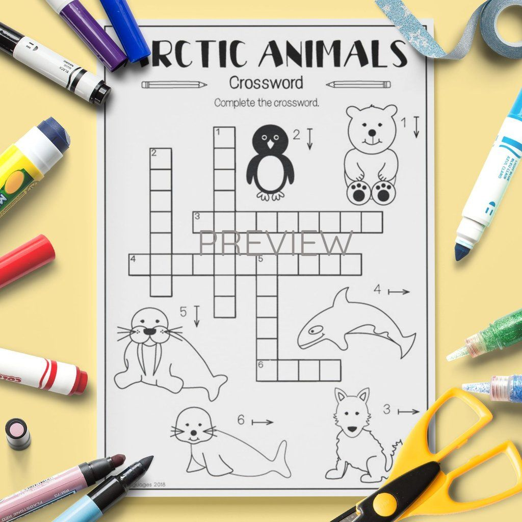 Arctic Animals Crossword