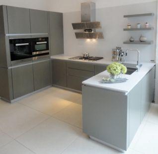 Exdisplay Zeyko Horizon Artichoke Kitchen And Worktops With Magnificent Designer Kitchens For Sale Decorating Design