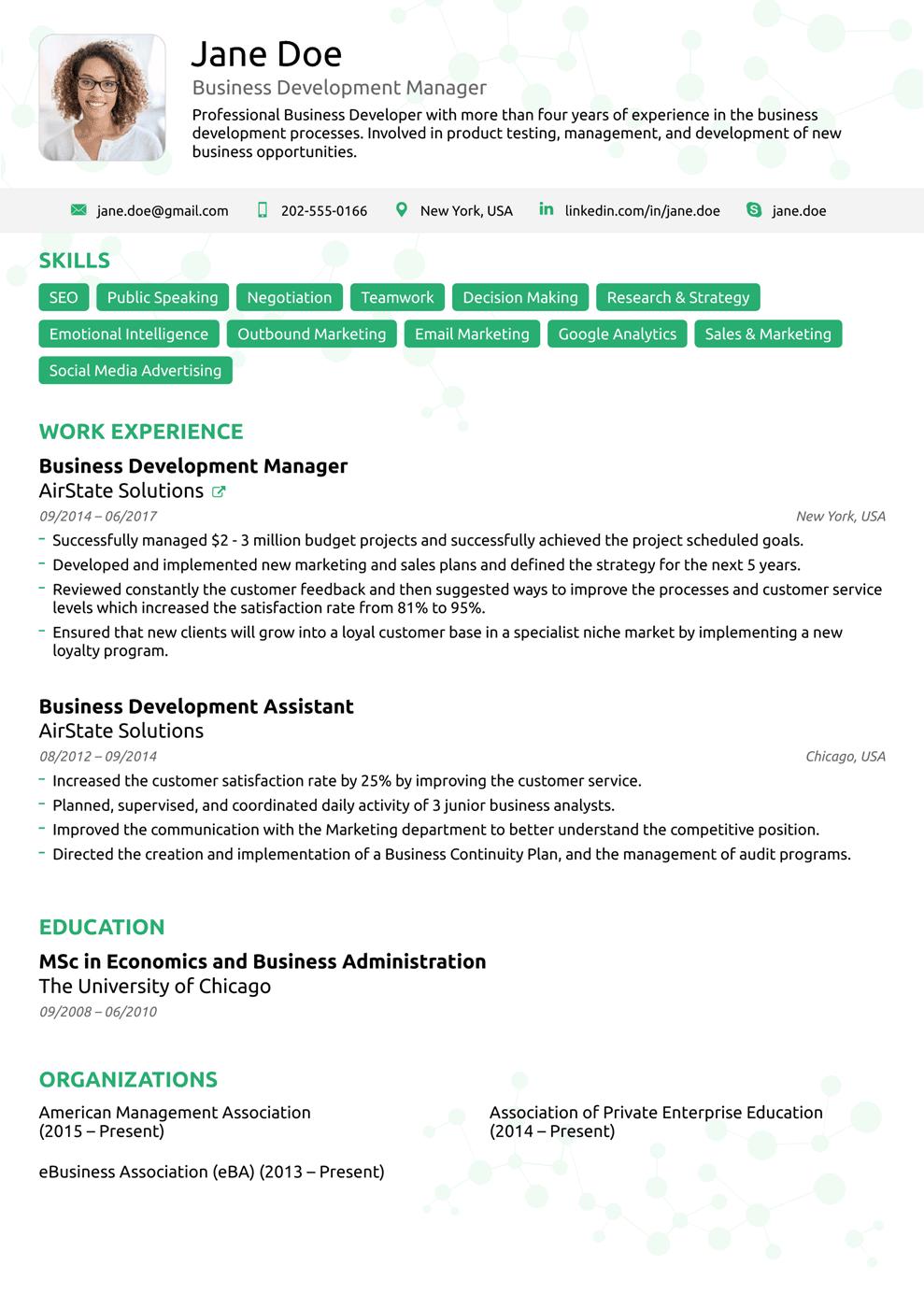 Pin By Giovany Silva On Cvs Best Resume Format Resume Templates Resume Template Professional