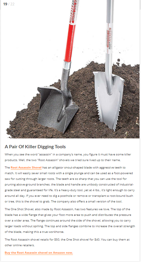 22 Yard Tools You Should Get Your Hands On This Fall Digging