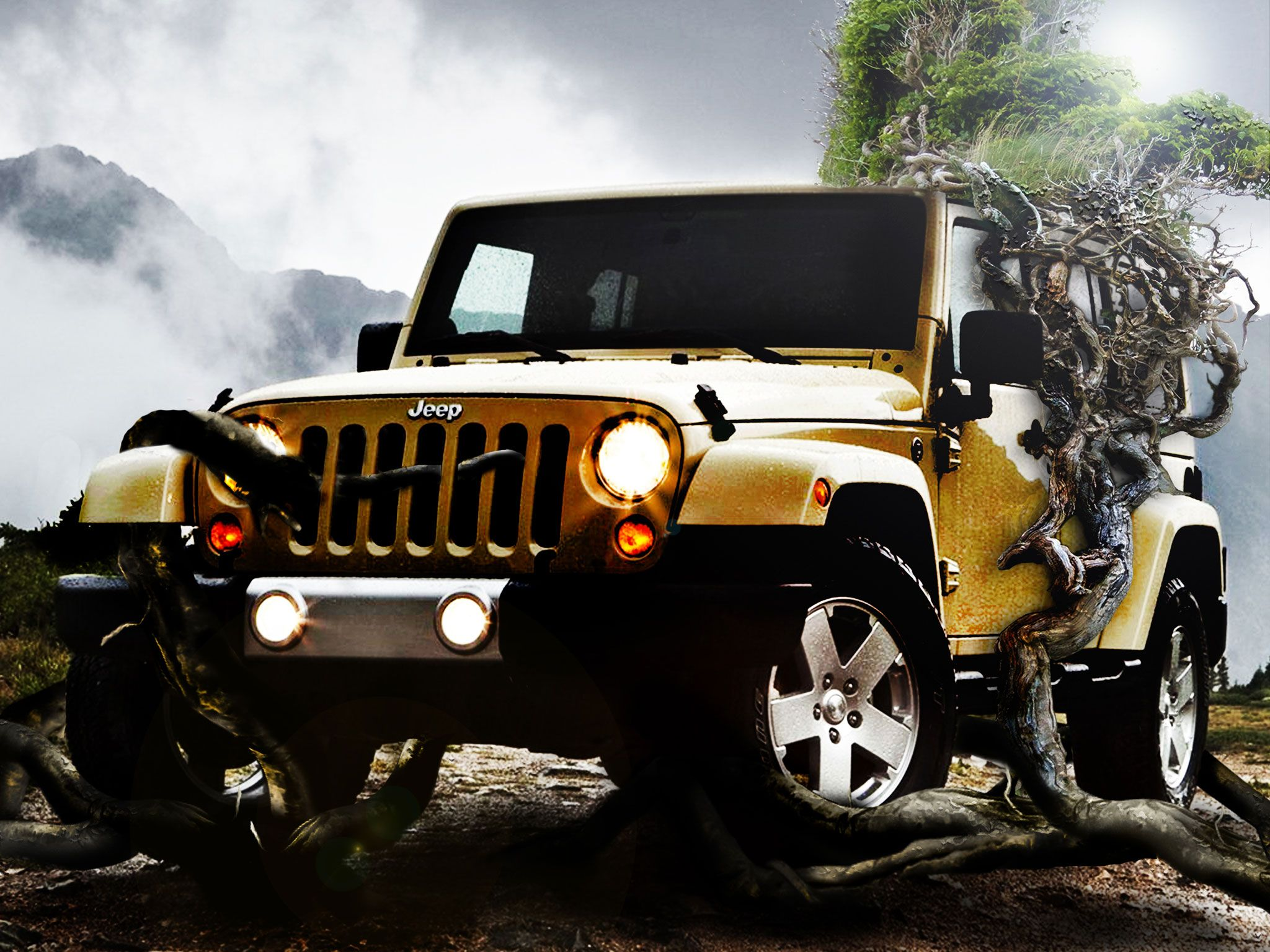 Jeep Wrangler Wallpaper httpwhatstrendingonlinecomjeep