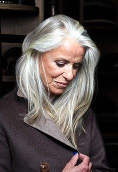 Tips To Choose B Hairstyles For 50 Year Long Grey Hairsilver