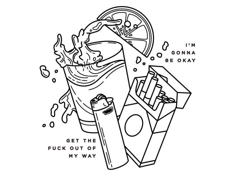 Alcohol.