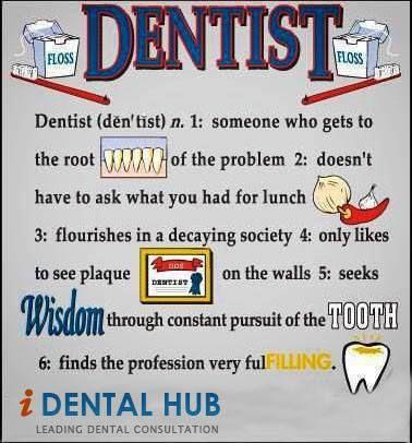 Definition of Dentist | dental humor | Dental jokes, Dental humor