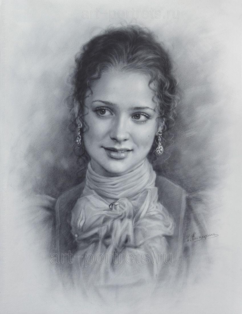 для карандашные портреты картинки то, как