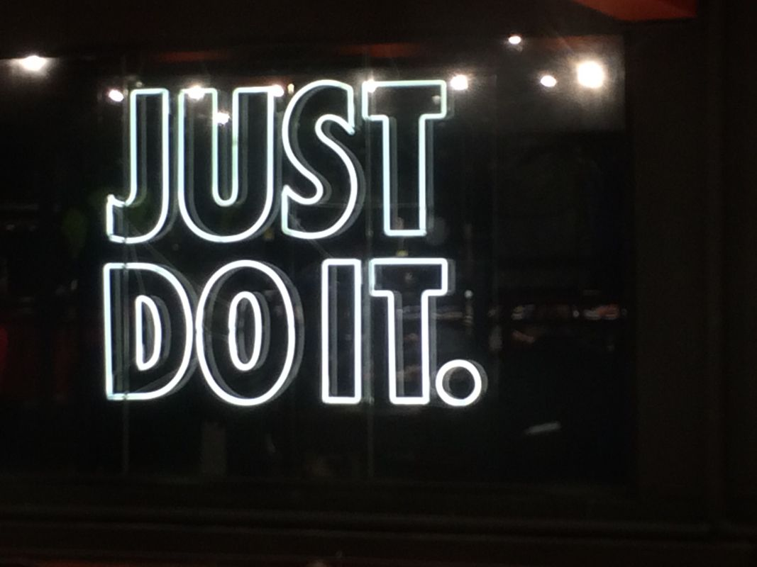 nike neon sign - Google Search