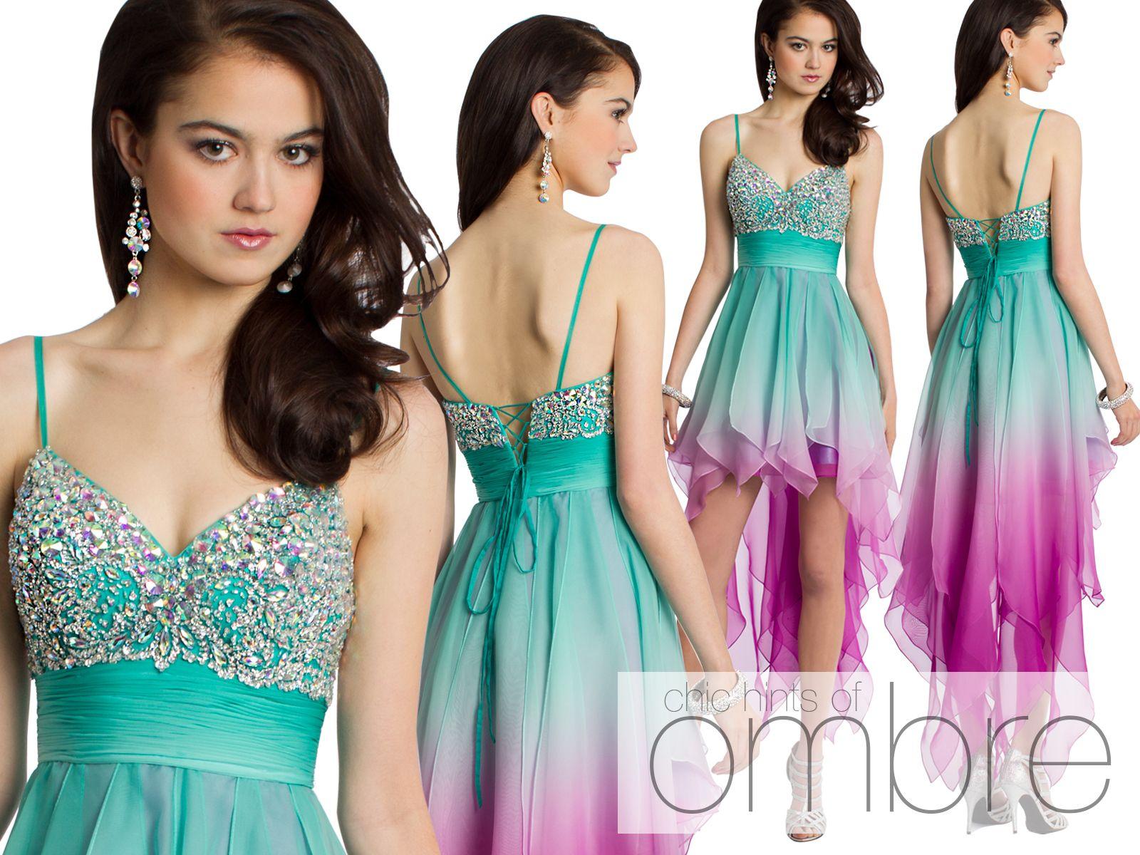 Camille La Vie Short Party Dresses CLV.com | PROM DRESSES: HIGH-LOW ...