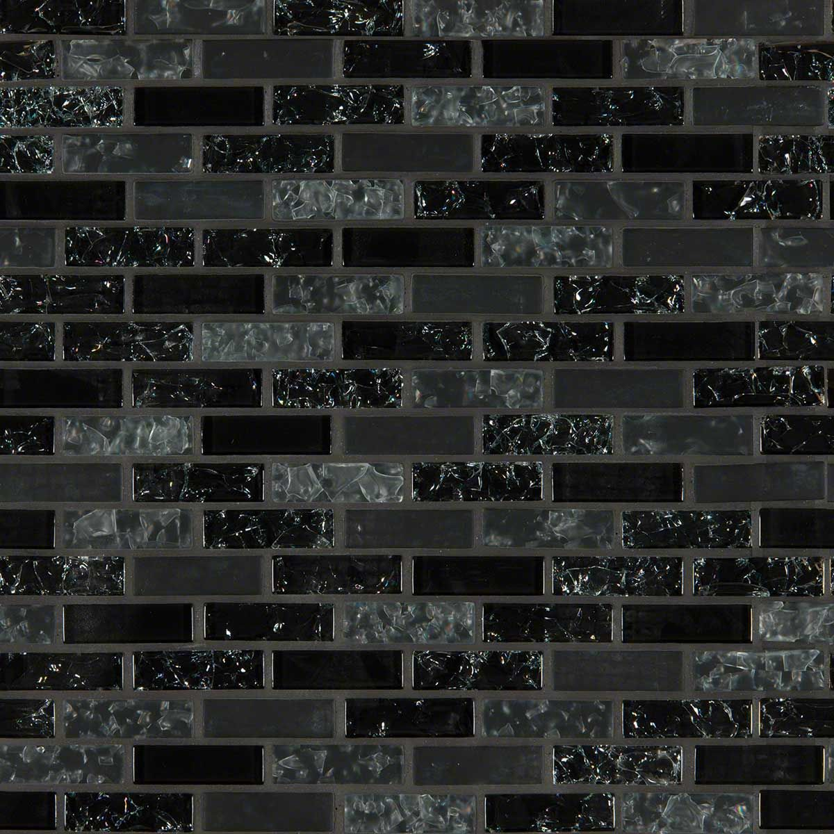 Glissen 8 8x2x6mm Mosaics Black Mosaic Tile Glass Mosaic Tiles Mosaic Glass
