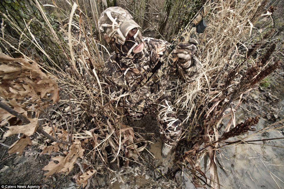 The human predators Hunter spends 25 years perfecting