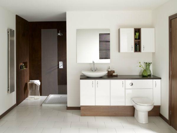 Badezimmerspiegel Modern ~ Badmöbel set duschpaneele modern badarmaturen badezimmer ideen