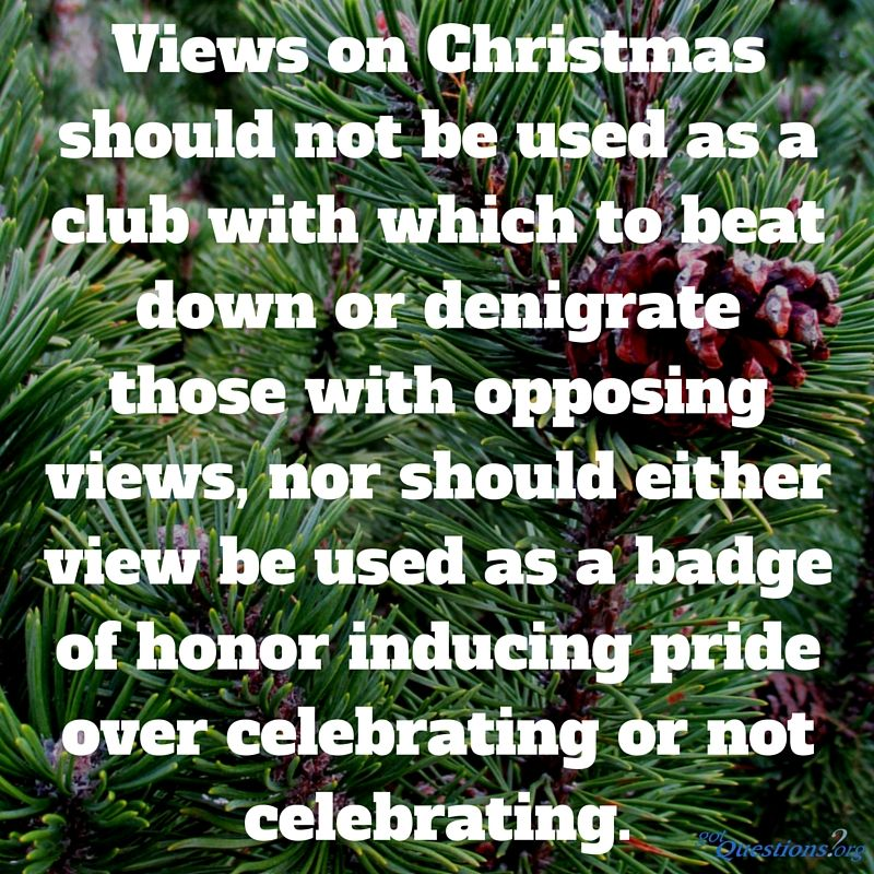 Should Christians celebrate Christmas? Does the Bible teach ...