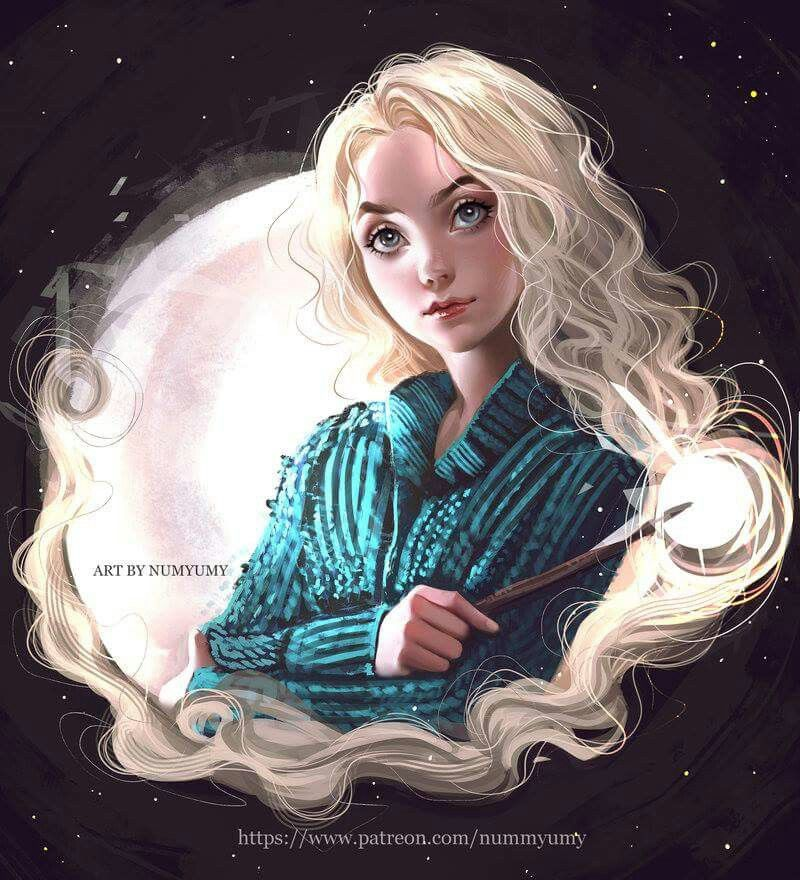 """Luna Lovegood"" By: numyumy.deviantart 