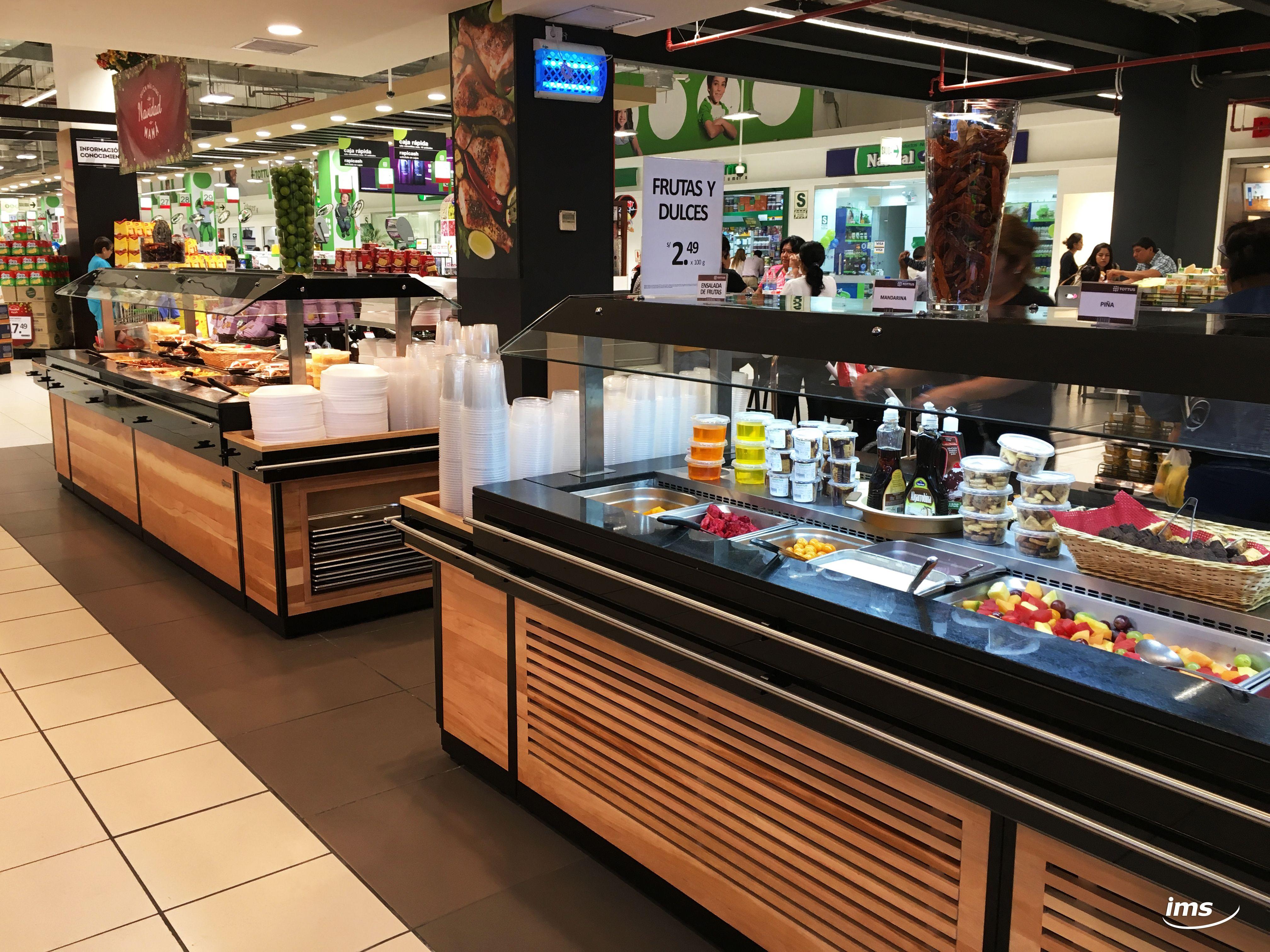 Linea Nitrox Islas De Autoservicio Salad Bar Refrigerado Y Buffet