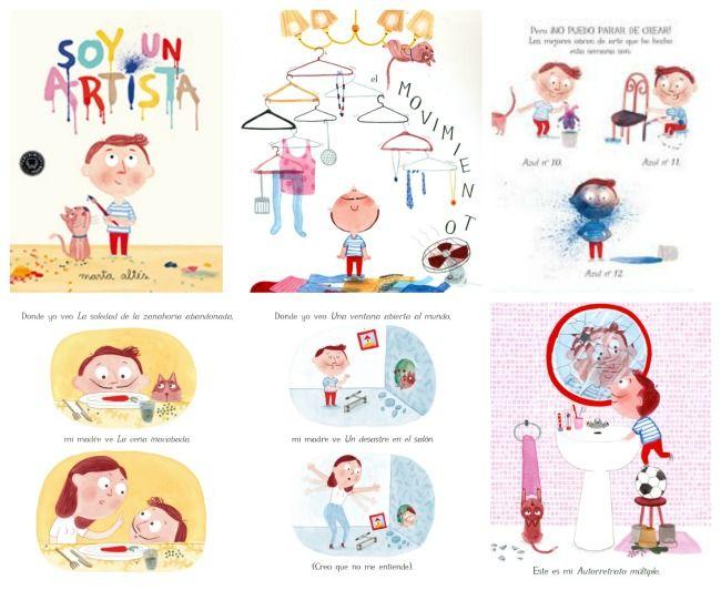 Pintamos? 4 libros infantiles sobre la magia de los colores ...