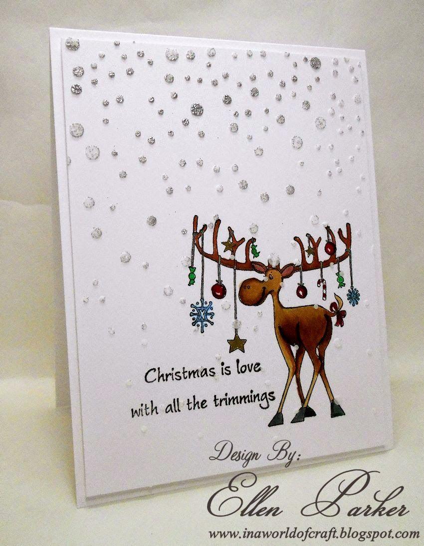 Great Impressions, Ellen Parker, Merry Kiss Moose, Trimmings ...