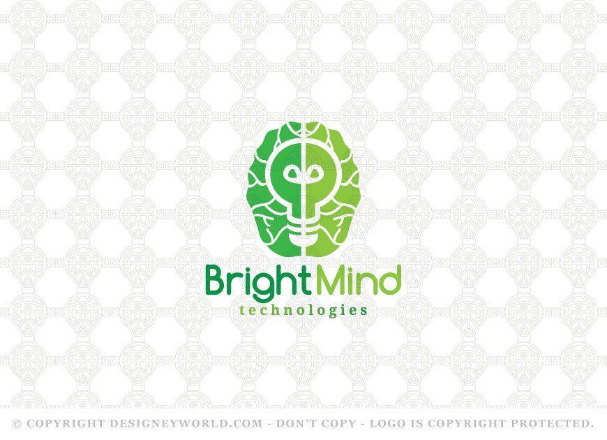 Bright Mind Technologies Logo Designeyworld Medicine Logo Logo Design Inspiration Brain Logo