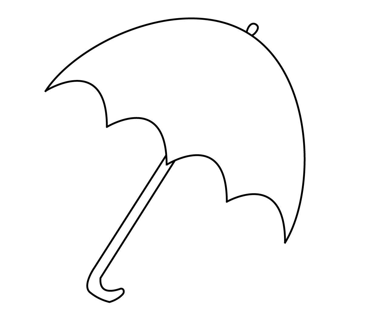 Umbrella Coloring Pages Preschool Umbrella Coloring Page Umbrella Coloring Pages