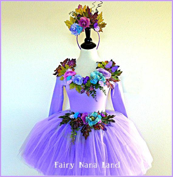 Adult Fairy Costume Size Medium Flower Fairy By