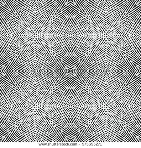 Seamless abstract monochrome engraving pattern  Texture for