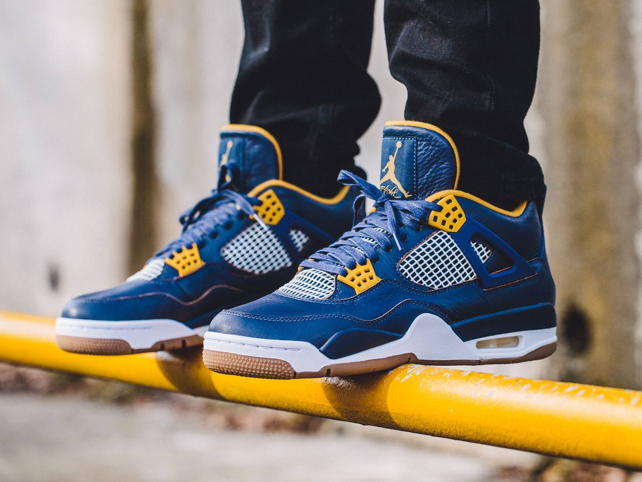 Michigan Colorway Of The Air Jordan Retro Iv Air Jordans Jordan Retro 4 Jordan 4