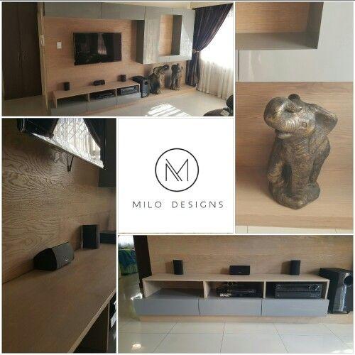 Oak Plasma unit   Furniture design, Design, Furniture Plasma Unit Design