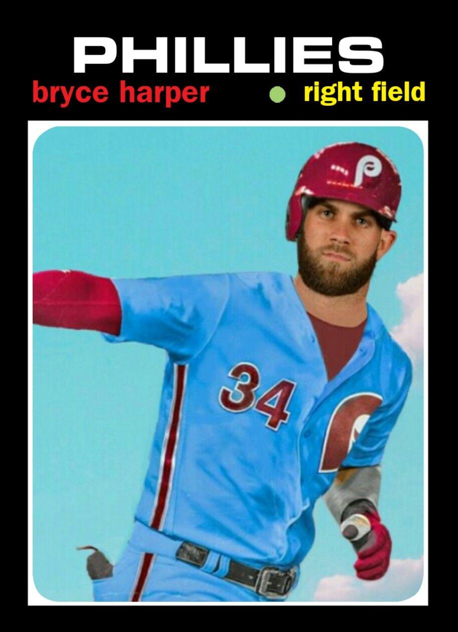 1971 Topps Bryce Harper phillies