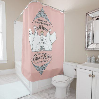 Ordinaire The Evil Queen | Objects In Mirror Shower Curtain   Shower Curtains Home  Decor Custom Idea