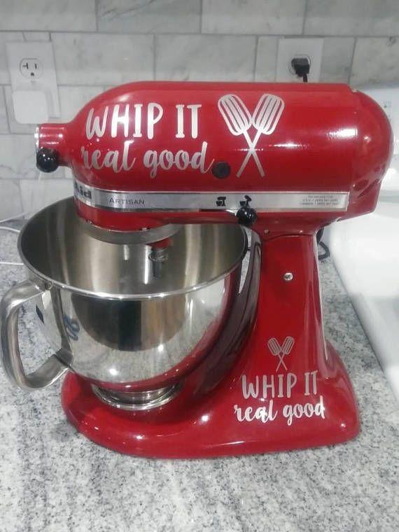 kitchenaid mixer decals decorate your stand mixer mjs ctafts rh pinterest com