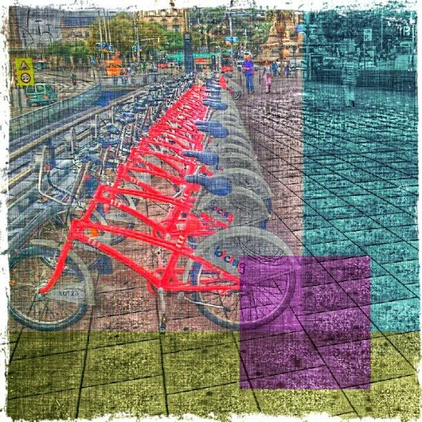 Ride a bycicle
