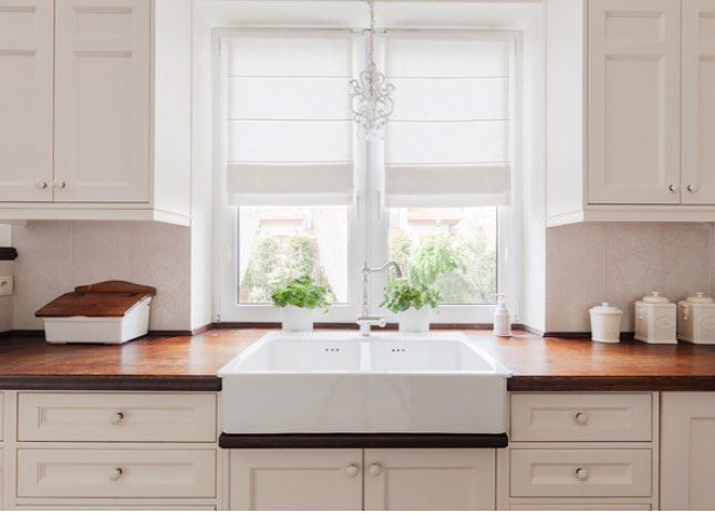 Farm sinks were the largest kitchen design trend in 2016. If you ...