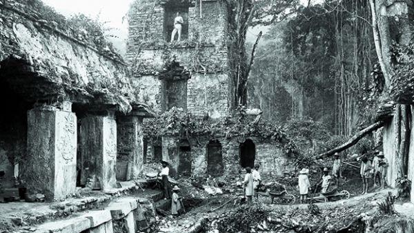 Descubrimiento de Palenque por A. Maudslay