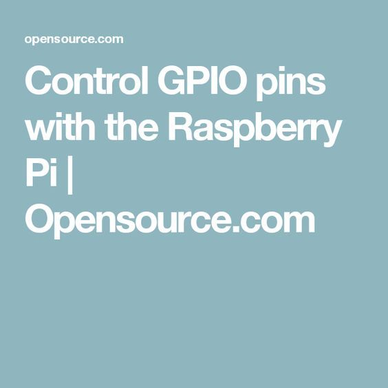 How to control GPIO pins and operate relays with the