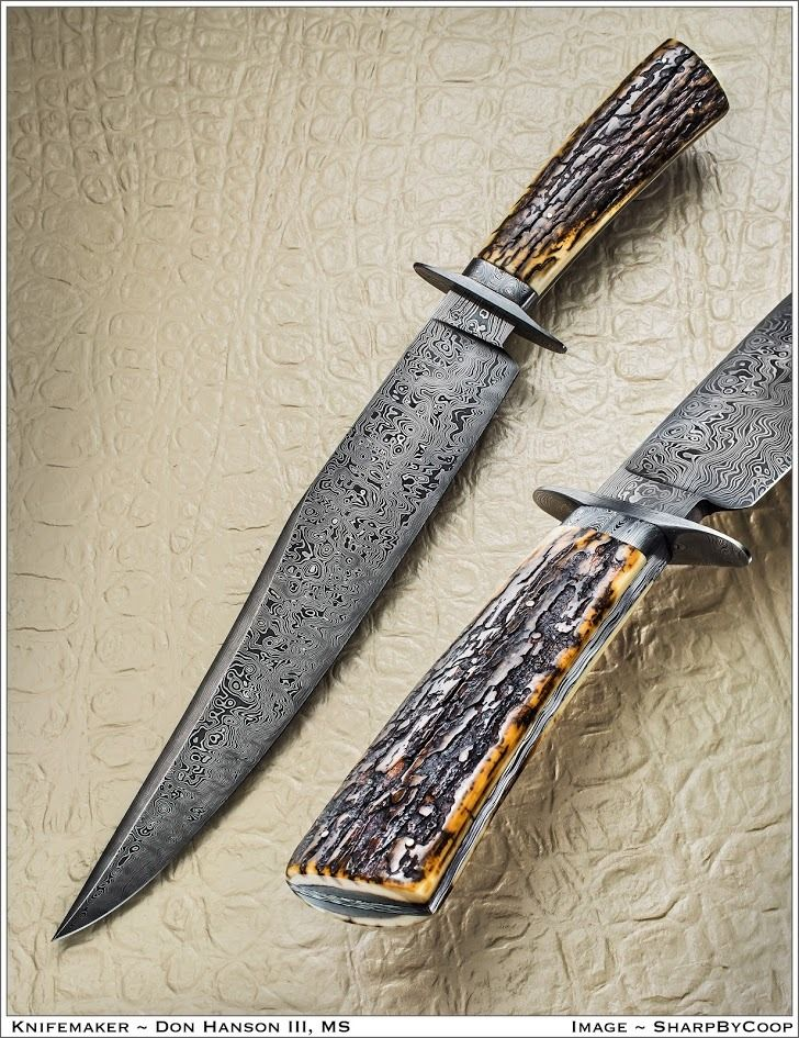 Hanson Effect Large Bowie Don Hanson Iii Bowie Knives