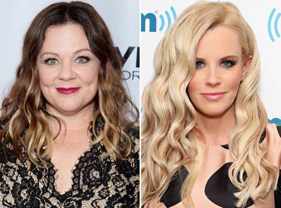 Celebrities You Didn T Know Were Related Melissa Mccarthy And Jenny Mccarthy Z Back In The 90s Jenny Sta Celebrities Jenny Mccarthy Celebrity Families