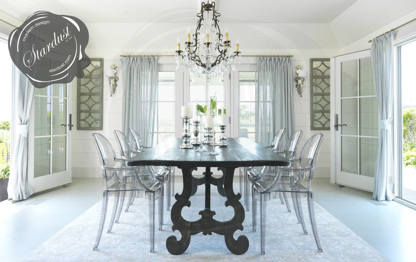 Louis Ghost Chairs All Colors Home Acrylic Dining Chairs Home Decor